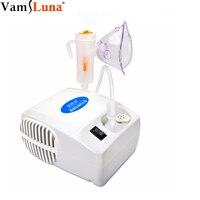 Vaporizador compacto pessoal portátil do nebulizador do vapor para crianças  adultos e crianças com 1 conjunto de acessórios
