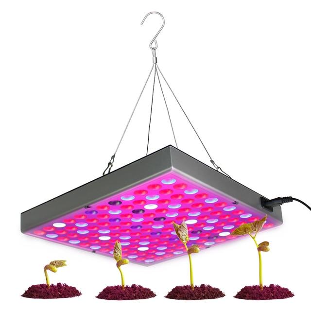 45 Вт 25 Вт Led световая панель для проращивания красный синий белый ИК УФ светодиодный светать полный спектр Fitolampy для внутреннего растения па...