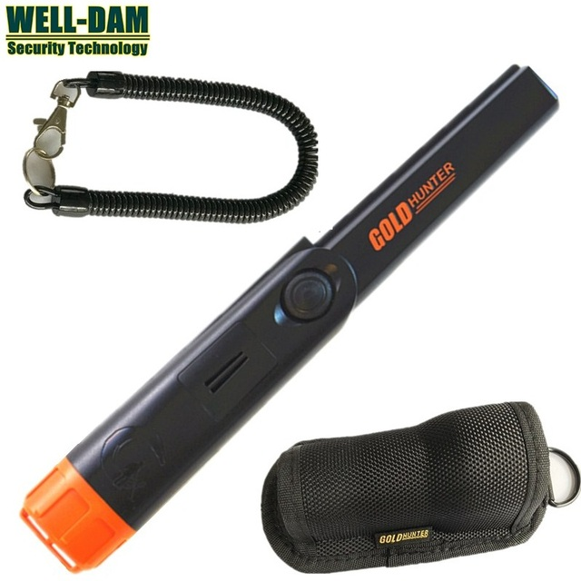 Gold Hunter TM waterproof pinpointer gold detector portable metal detector handheld metal detector underground metal detector