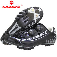 SIDEBIKE Carbon Fiber Mountain Bike Shoes For Bicycles Men Sport Racing Cycling Sneakers Zapatilla Mtb Hombre Sapatilha Ciclismo