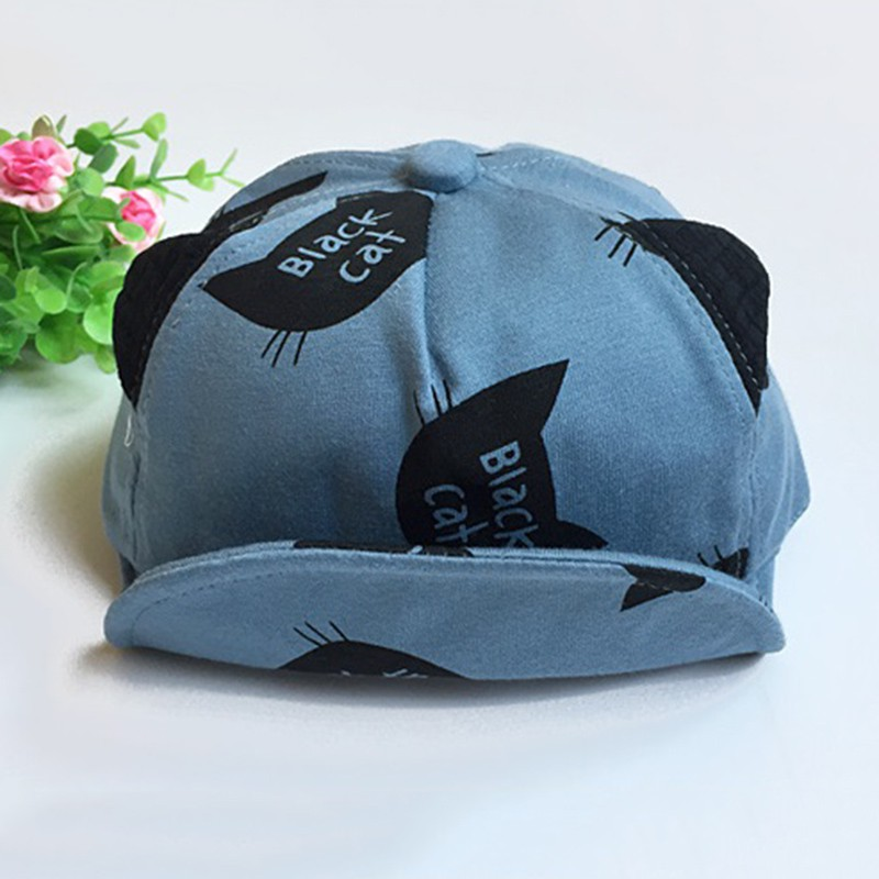 Chidren Cap For Boys Girls Cotton Cap Cartoon Spring Kids Summer Hat Photography Pros Kids Accessories