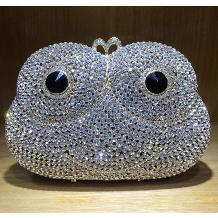 silver Diamond Full Crystal Rhinestone wallet Women Clutch Metal Bag Bridal Dress Party Handbag Evening Bag Day Clutches Purse crystal rhinestone bag gold evening bag women small banquet bag diamond clutch purse chain shoulder bag bridal handbag clutches