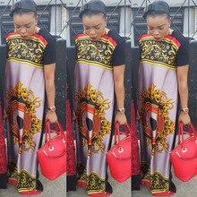 African Dashiki Fashion Bazin Loose Dress