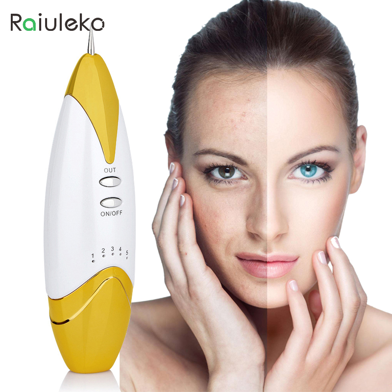 2017 Laser Mole Removal Tool Spot Remover Freckle Tattoo Removal Pen Wart Removal Machine Skin Care Salon Home Beauty Device usb laser freckle removal machine skin mole removal dark spot remover for face wart tag tattoo remaval pen salon home care