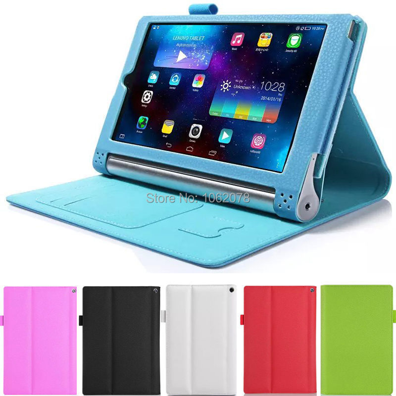 Case for Lenovo Yoga Tab 2 830F 830L 8.0 inch, GARUNK Leather With Stand Card Slot Holder Tablet Cover for Lenovo Tablet 2-830F