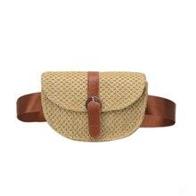 Woven Single Shoulder Diagonal Bag Fashion Mobile Wallet Designer Portable Package 2019 Summer New Style