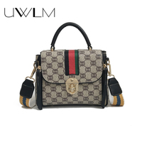 Luxury Women Handbags Bags Famous Flroal Purse Panelled Crossbody Bags sac a main Pu Leather Small Flaps Street Shoudler Bags