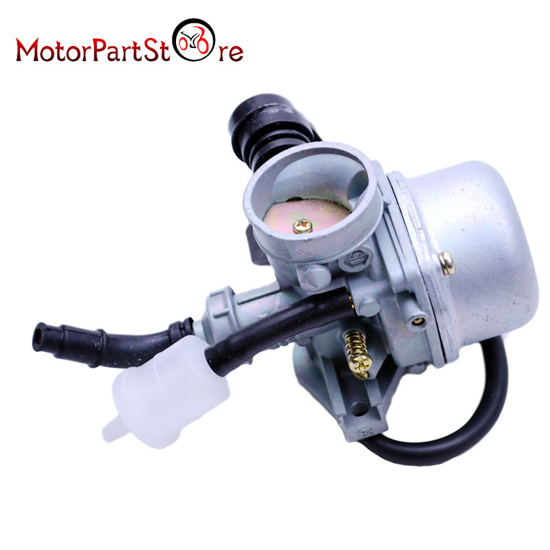 PZ19 19MM Motorcycle Carburetor for Chinese 50CC 70CC 90CC 110CC 125CC ATV Dirt Bike Go Kart Manual Choke Taotao @15