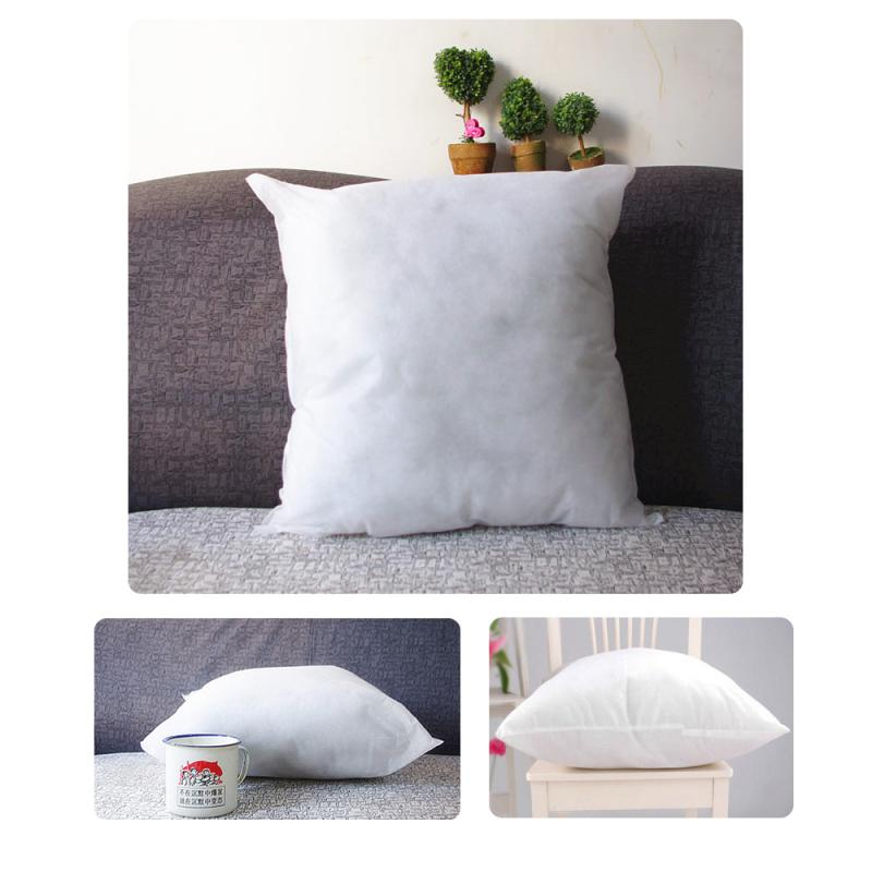 Big Soft Throw Pillows : 40X40cm White Square Throw Pillow Inner PP Cotton Filler Soft Pillows Core Pillow Insert Cushion ...