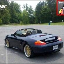 Автомобильная камера для Porsche 986 Boxster 1997~ 2004, Высококачественная камера заднего вида для вентиляторов TOPGEAR | CCD+ RCA