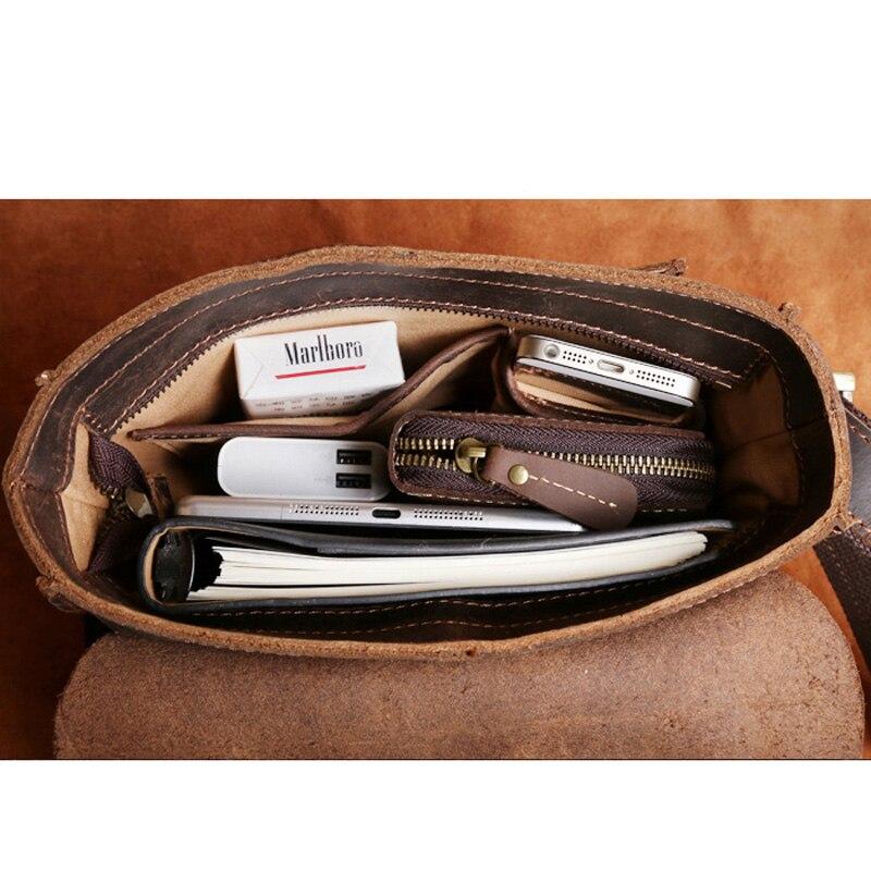 Pferd Aetoo Handgemachte Einfache Paket Umhängetasche Abschnitt Männer Retro Mad Aktentasche Tasche Leder 1 Männlichen Reinem UFnpnax