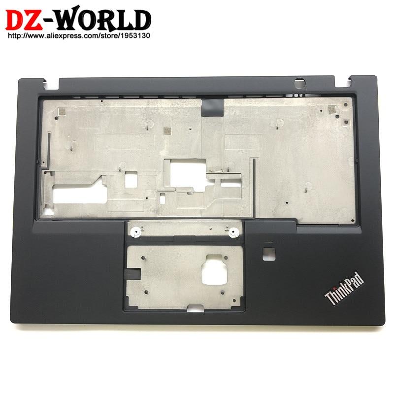 New Original for Lenovo ThinkPad X280 Keyboard Bezel Palmrest Cover w o Touchpad with Fingerprint Hole