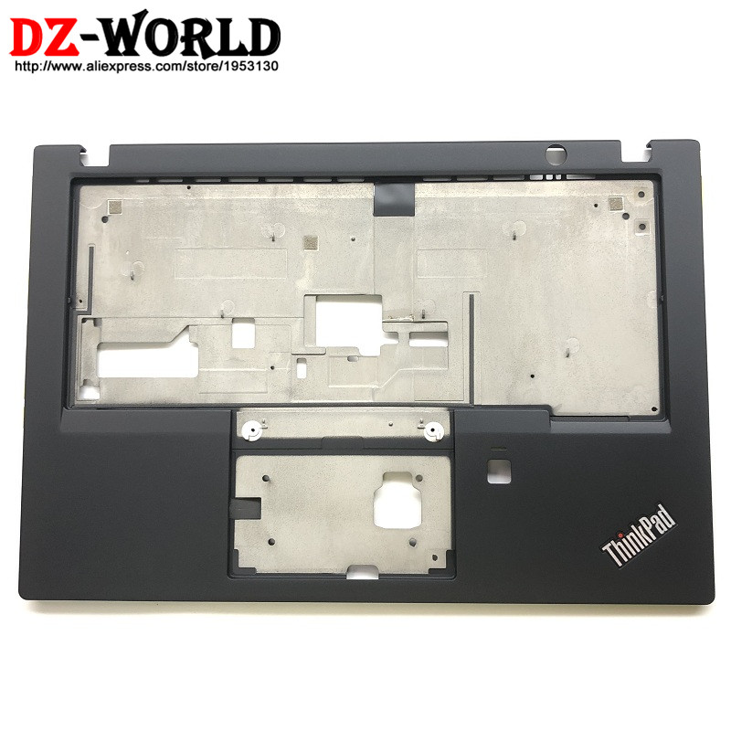 New Original for Lenovo ThinkPad X280 Keyboard Bezel Palmrest Cover w/o Touchpad with Fingerprint Hole 01YN056 AM16P000300 все цены