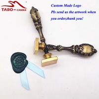 Long Service Life Custom Made Sealing Wax Stamp Metal Handle Customized Sealing Wax Stamp For Envelope
