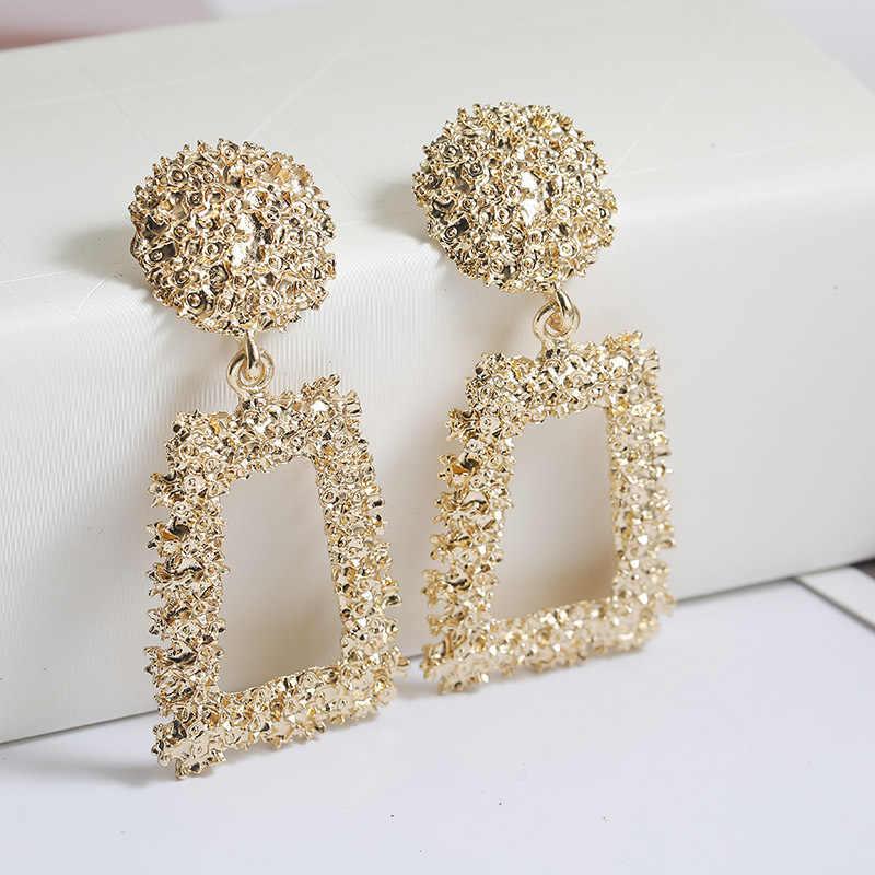 Los pendientes más nuevos de moda de las mujeres 2019 pendientes de gota del diseño europeo regalo para el regalo del Día de San Valentín del amigo