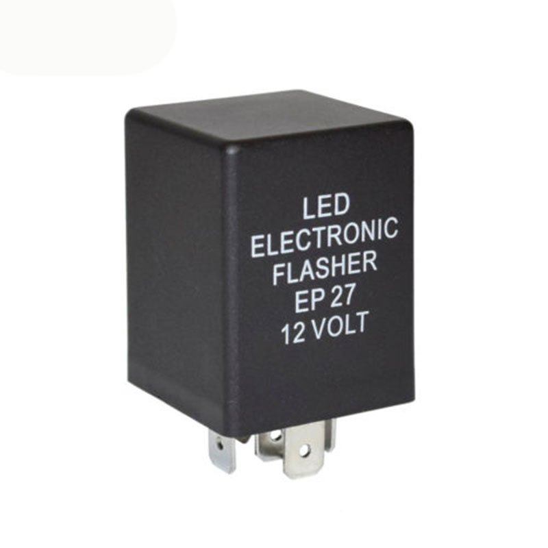 1x. For Car 5Pin LED Flasher Relay Decoder 12V Fix Turn Signal Light Hyper Flash