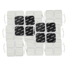 DOMAS Square Reusable Tens Unit Electrode Pads 2x2 Inch Pack of 40