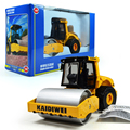 KAIDIWEI 1:50 Scale Engineering Vehicle Model SINGLE DRUM COMPACTOR Alloy Heavy Forklift Toy Car