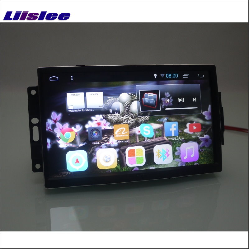 Liislee voor Dodge Calibre / Oplader 2006 ~ 2008 Auto Android 6.0 GPS - Auto-elektronica