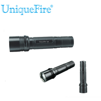 UniqueFire 5 Modes L2 CREE U2 LED 1200LM Black Torch 10 Watt 1x 18650 Rechargeable Police Led Lamp Flashlight Free Shipping
