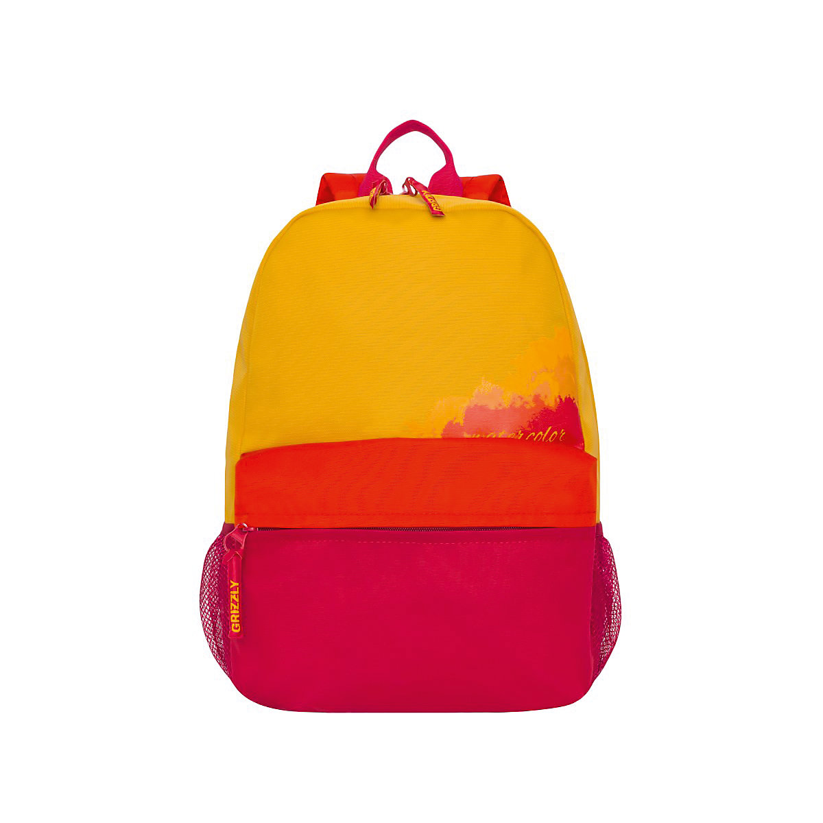 GRIZZLY School Bags 11863938 schoolbag backpack orthopedic bag for boy and girl animals 2017 winter drawstring design women backpack real leather crocodile pattern female rucksack vintage school bag for young girl