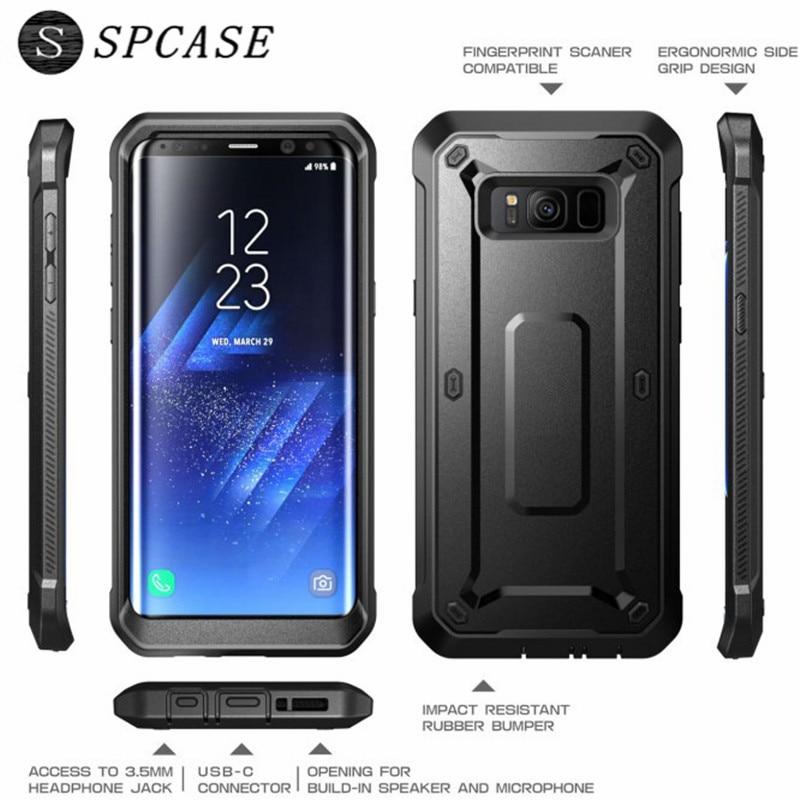 SPCASE Luxury Heavy Duty Defender Phone Case for SAMSUNG Galaxy S8 S8 Plus S7 Shockproof Hybrid Armor Unicorn Beetle Cover Capa