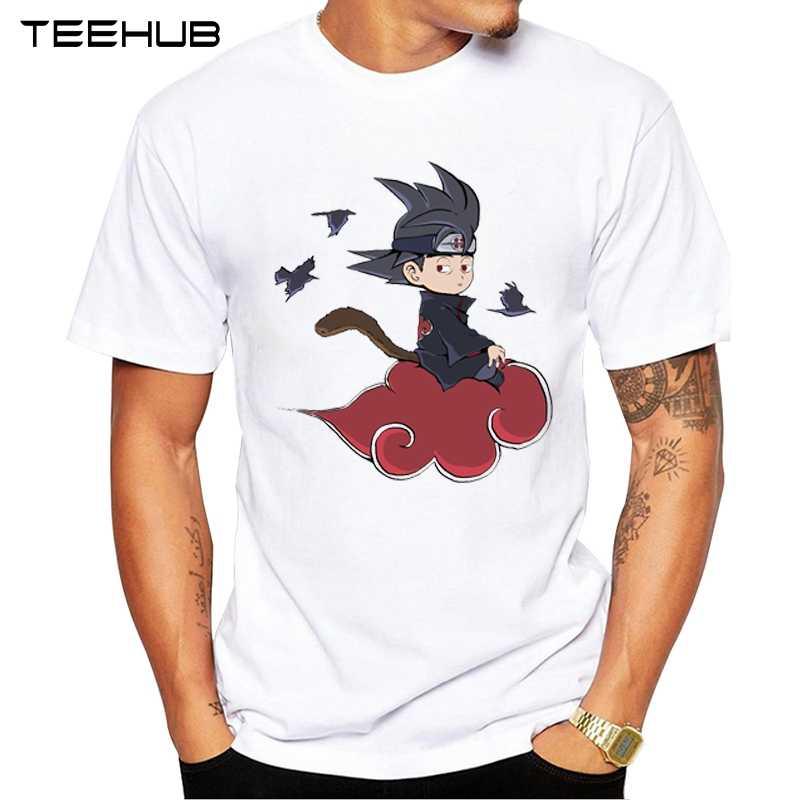 Teehub новейшие Goku Ra мужские футболки Saiyan Prince мужские майки с принтом с круглым вырезом с коротким рукавом мужские футболки с драконом