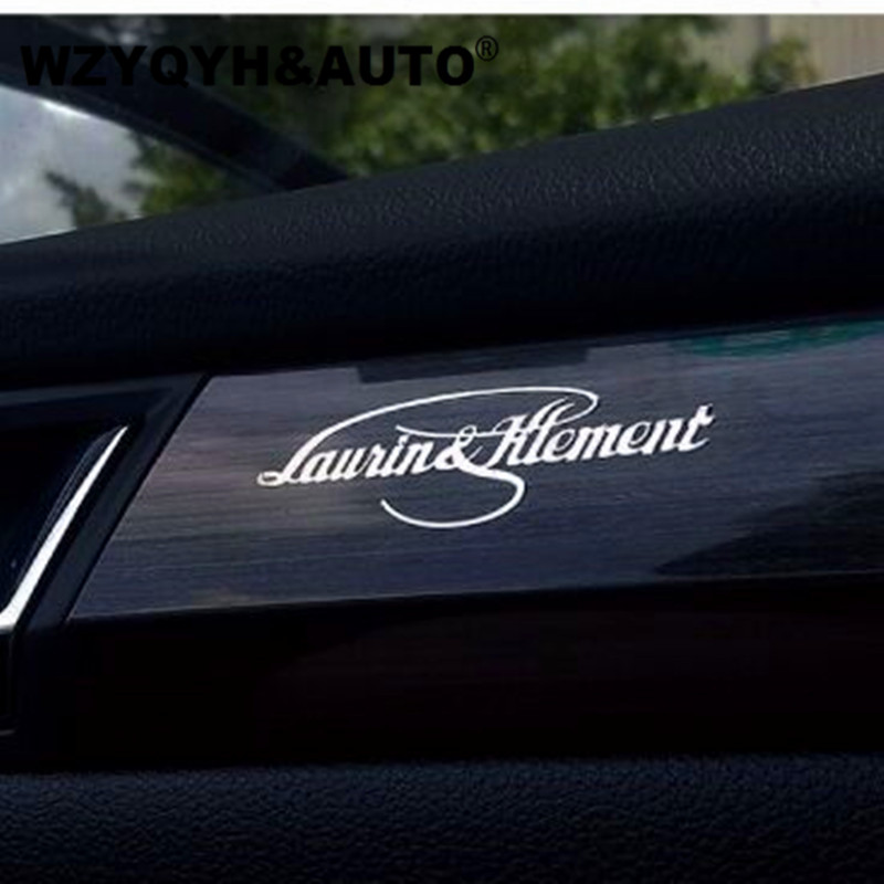 NEW Car Sticker Car Body Metal L&K Sticker Decal Decoration Decals For Skoda Octavia Fabia Rapid Yeti Superb Kodiaq Car Styling