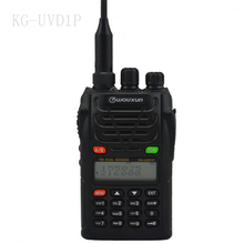 2016 novo display wouxun kg-uvd1p rádio em dois sentidos dual band 128ch walkie talkie uv-d1p 136-174/400-480 mhz