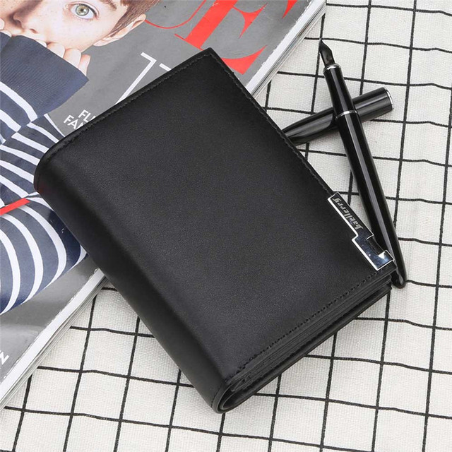 Brand Baellerry Men wallets fashion new card purse Multifunction organ wallet for male Iron edge zipper wallet with coin pocket