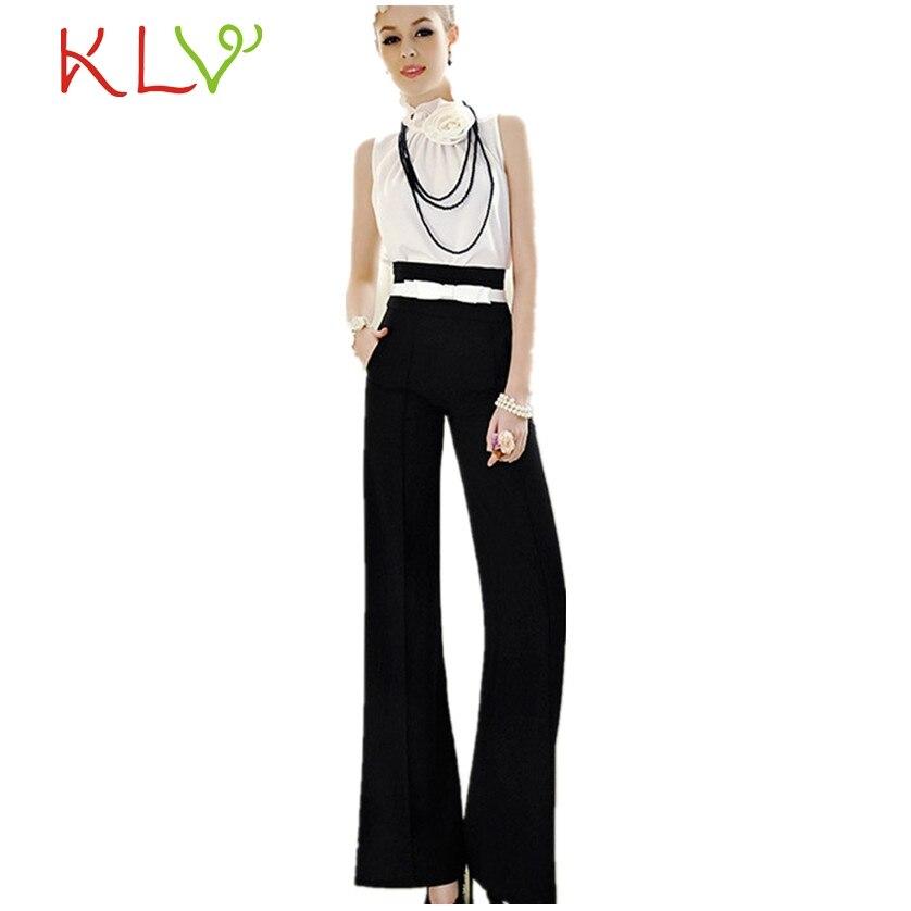 Plus Size Summer Women Solid Black Color Wide Leg Loose Linen Dress