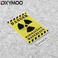 Car Styling Decal Bumpers DANGER Zombie Resident Evil Sticker for RADIOACTIVE MATERIALS