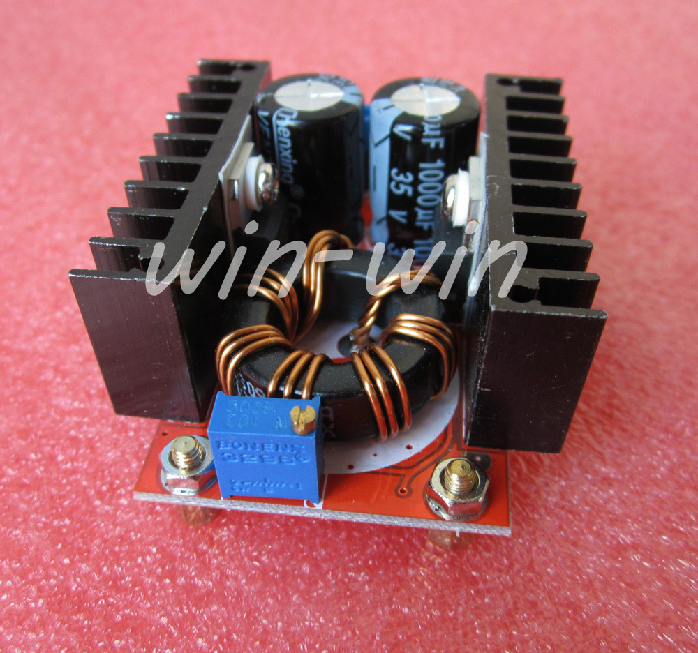1pcs <font><b>150W</b></font> 10-32V~ 12-35V 6A <font><b>Step</b></font> <font><b>Up</b></font> Voltage Charger Power <font><b>DC</b></font> Boost Converter power supply voltage regulator <font><b>DC</b></font>-<font><b>DC</b></font> Boost image