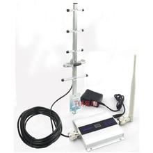 Мобильный телефон усилитель сигнала GSM повторитель сигнала Сотовый телефон GSM 900 МГц усилитель сигнала с ЖК-дисплеем Яги полный набор