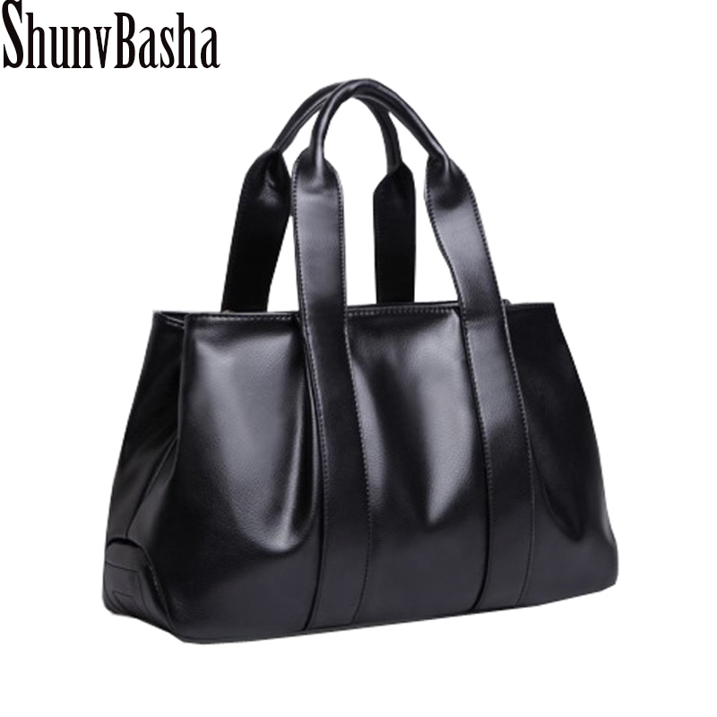 2018 ShunvBasha Women PU Leather Handbag Fashion Women Shoulder Bag High Quality Women Messenger Bag Medium Women Tote Bag new arrive women leather bag fashion zipper handbag high quality medium solid shoulder bag summer women messenger bag