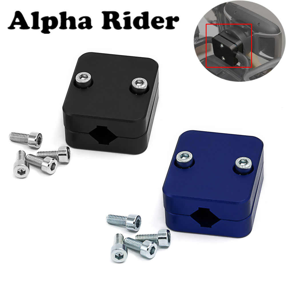 Motorcycle Mobile Phone Navigation Holder Suitable 12mm / 16mm  Mount Bracket Diameter For BMW R1200GS LC & ADV Adventure