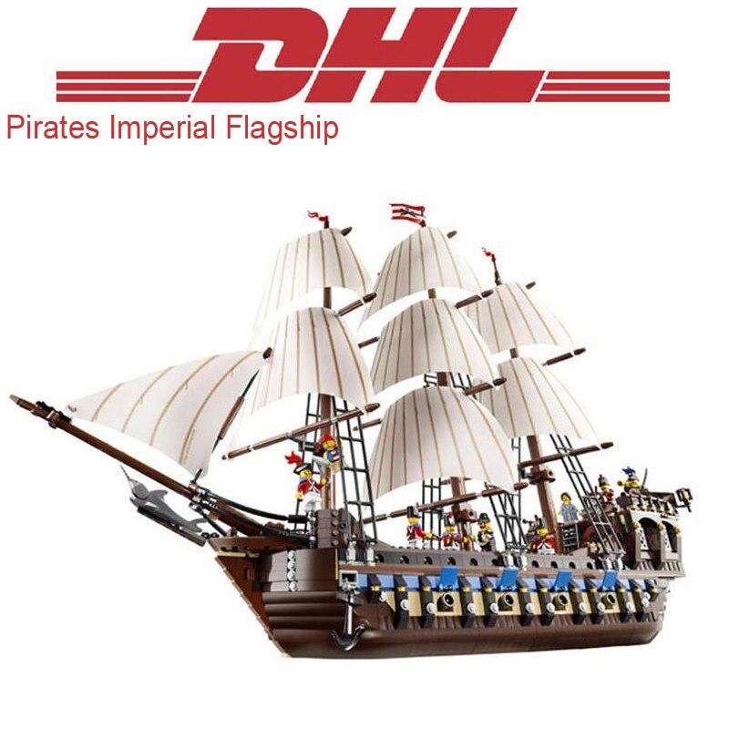 1779 Pcs Chiffres Pirates Impériale Phare Modèle Kits de Construction Blocs Briques Jouets Pour Enfants Cadeau De Noël Compatible 10210