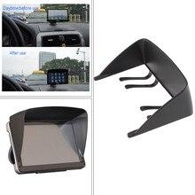 Новая универсальная 7 дюймов Солнцезащитный козырек для автомобиля gps навигатор ЖК-дисплей монитор просты в установке Высокое качество и прочный практичный# YL5