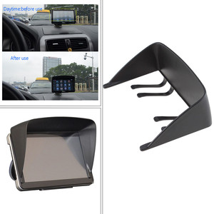New Universal 7 Inch Sun Shade Visor For Car GPS Navigator LCD Monitor Easy To Install High Quality And Durable Practical #YL5(China)