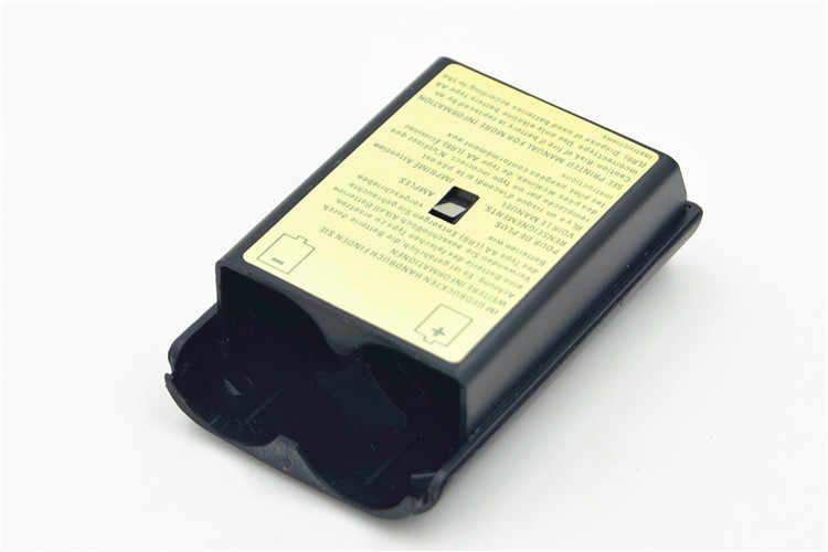 Batteria Copertura del Portello Per Xbox 360 Controller Wireless Nero Colore Bianco Posteriore di Caso di Shell Pack Kit Per Xbox360 Gamepad Joystick
