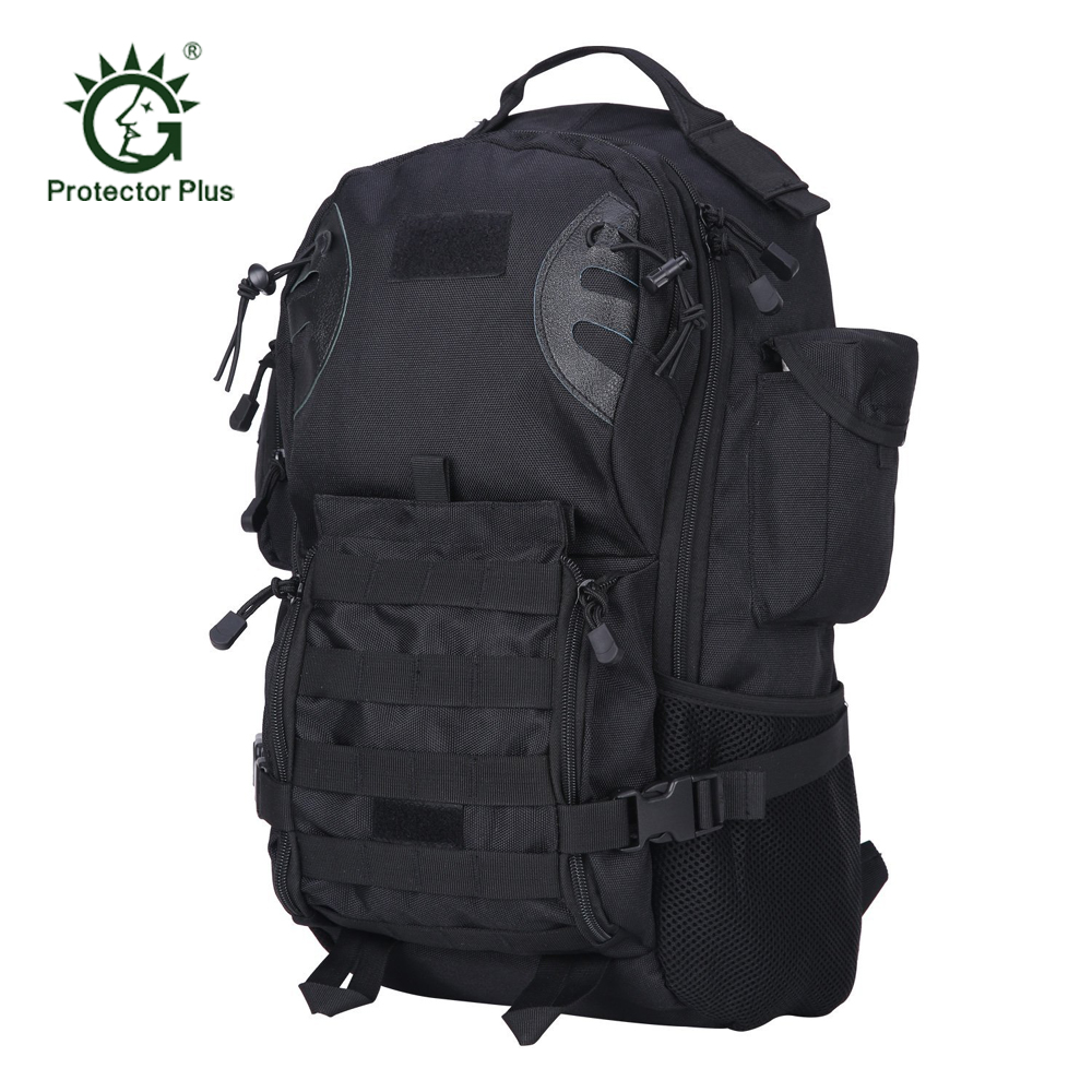 35L Tactical Backpack 900D Nylon Heavy Duty Molle Assault Pack Army Military Style Rucksack Bag for Outdoor Travel Hiking 600d tactical molle 3p hydration assault backpack rucksack outdoor hiking camping trekking waterproof heavy duty storage bag