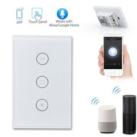 120 Type Wifi Electrical Blinds Switch Wireless WiFi Voice Control Touch Control Wall Switch Timing Home Appliances Delay Light