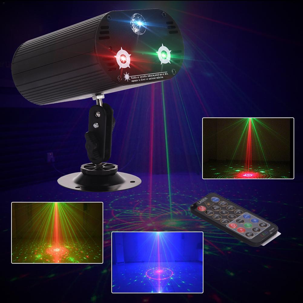 DJ Laser scène lumière 36 en un projecteur LED effet de scène éclairage pour Disco lumière de noël fête