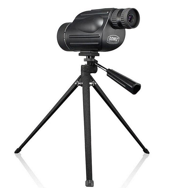 Gomu 10-30x50 hd zoom monocular pássaro relógio de alta qualidade nitrogênio binóculos telescópio à prova dshockproof água para a caça à prova choque tripé