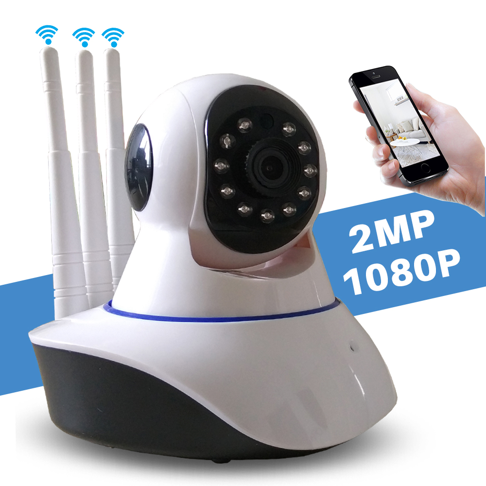 Home CCTV Surveillance Security font b Wireless b font Wifi Camera HD 1080P Mini IP Camera