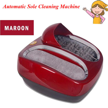 YUNLINLI Automatic Sole Cleaning Machine Polishing Shoe Equipment For Setting / Living Room  412412