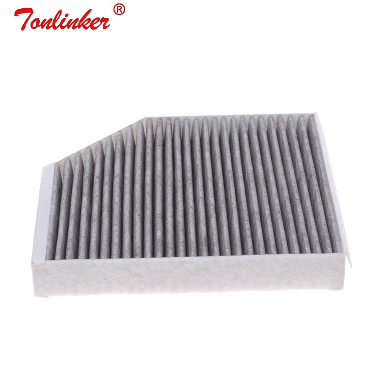 Cabin Filter Fit For PORSCHE MACAN (95B) 2.0 R4 3.0GTS 3.0 S Diesel 3.6 Turbo Model 2014 2015 2016-Today Filter Car accessories
