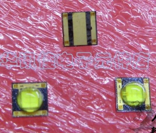 20 pçs/lote 1 Destaque de Alta Potência w LED SMD 3535 Lâmpada Talão Branco 120LM-130LM Lanterna de Luz Branca Do Grânulo