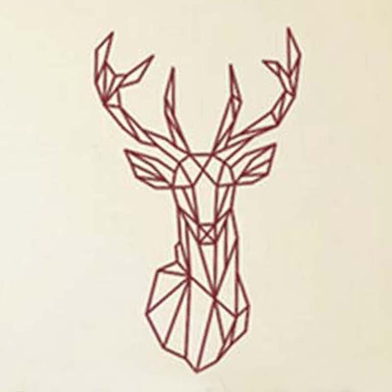 Deer Head Wall Art deer head wall art promotion-shop for promotional deer head wall