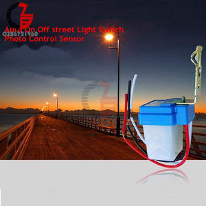 Image 5 - AC 220V DC 12V 24V מתג אוטומטי אוטומטי על Off תא פוטואלקטרי רחוב אור מתג 10A Photoswitch חיישן שליטת אור מתג